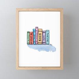 Little Library Framed Mini Art Print