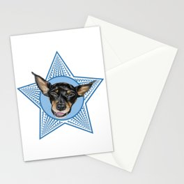 Adopt (Blue) Stationery Cards
