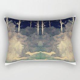 Winter Song Rectangular Pillow