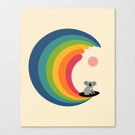 Dream Surfer Canvas Print