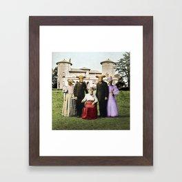 Cowtown Abbey Framed Art Print