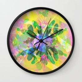 cactus moon Wall Clock