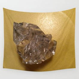 Quartz crystal from New York Wall Tapestry