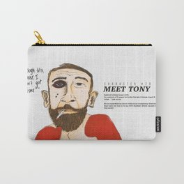 Tony the Boxer Carry-All Pouch