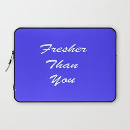 Fresher Thank You : Periwinkle Laptop Sleeve