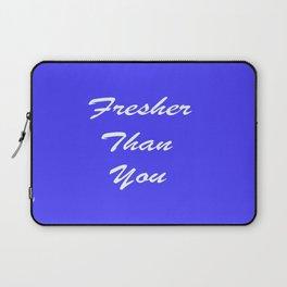 Fresher Thank You : Periwinkle Laptop Sleeve