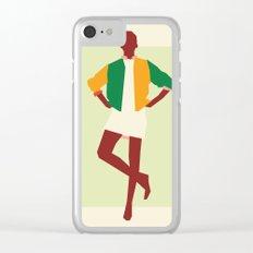 Fashion Dance 7 Clear iPhone Case