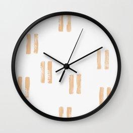 lines Wall Clock