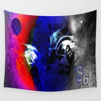 universe Wall Tapestries featuring universe by Laake-Photos