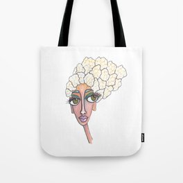 cauliflower girl Tote Bag