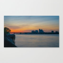 Nights on the Han River Canvas Print