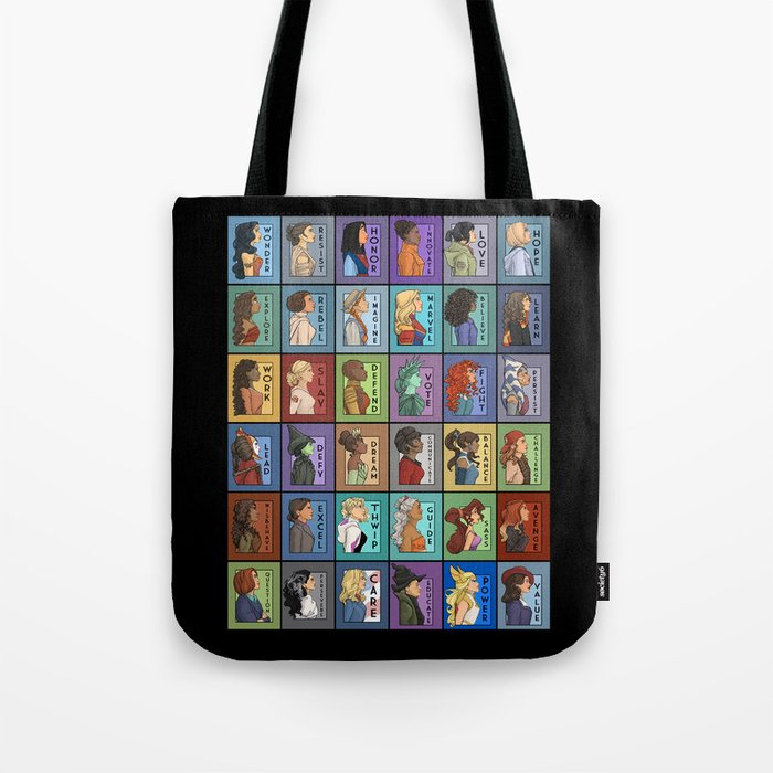 She Series Collage 1-4 Tote Bag