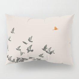 Bird and Birds Pillow Sham