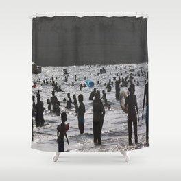 Shadow Beach Shower Curtain