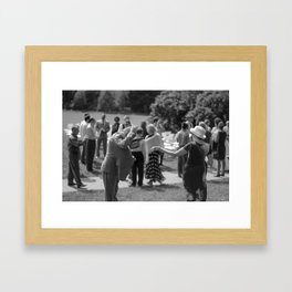 Mazel Tov! Framed Art Print