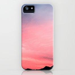 Salmon Skies iPhone Case