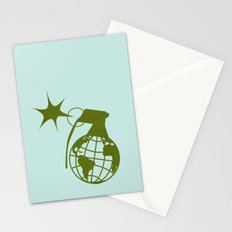 Earth Grenade Stationery Cards