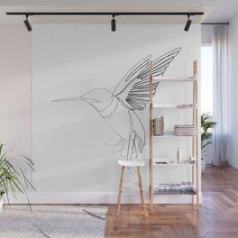 """Animals Collection"" - Humming bird Wall Mural"