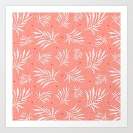 Island Breeze Living Coral Art Print