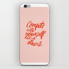 Compete iPhone & iPod Skin