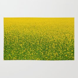 Mustard Field (of Yellow and Green) Rug
