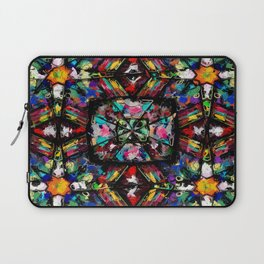 Ecuadorian Stained Glass 0760 Laptop Sleeve