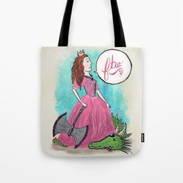 Princess FTW Tote Bag