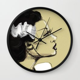 The Bride Wall Clock