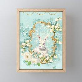 The White Rabbit Framed Mini Art Print