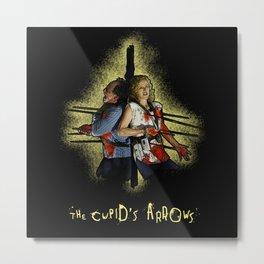 Saw - The Cupid Arrows  Metal Print