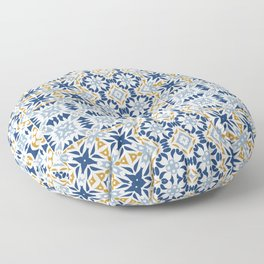 Mixed Portuguese Azulejos  Floor Pillow