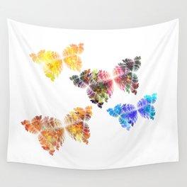 Gruß der Schmetterlinge  (A7 B0142) Wall Tapestry