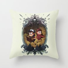 Gravity Falls Throw Pillow