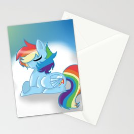Rainbow Dash Stationery Cards
