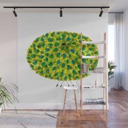 Poofy Pineapple Wall Mural