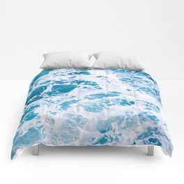 Perfect Ocean Sea Waves Comforters