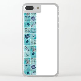 A Tile of Two Cities Clear iPhone Case
