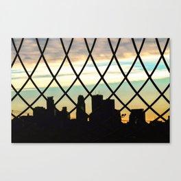 City Web Canvas Print