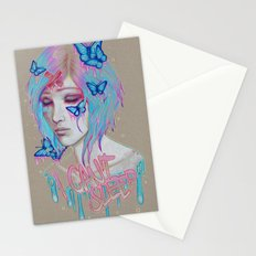I Can't Sleep Stationery Cards
