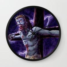 Zombie Messiah Wall Clock