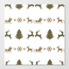 Christmas pattern 2 Canvas Print