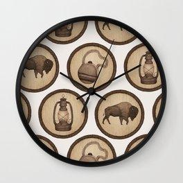 Go Explore! Patches Wall Clock