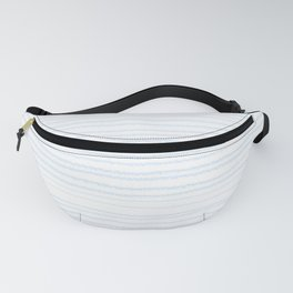 Fun Geeky Writers Gift: College Ruled Rules Pattern Fanny Pack