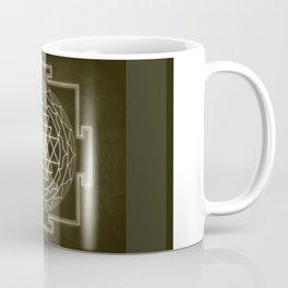 Sri Yantra XI monochrome Coffee Mug