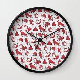 Shiba Dog / Shiba Inu (柴犬) Wall Clock
