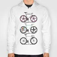 brompton Hoodies featuring This Is How I Roll by Wyatt Design