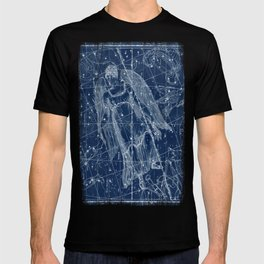Virgo sky star map T-shirt