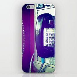 Another Telephone Lover iPhone Skin