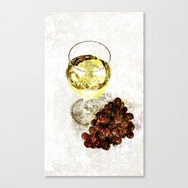 wine glass Canvas Print