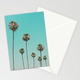 palm trees. las palmeras Stationery Cards